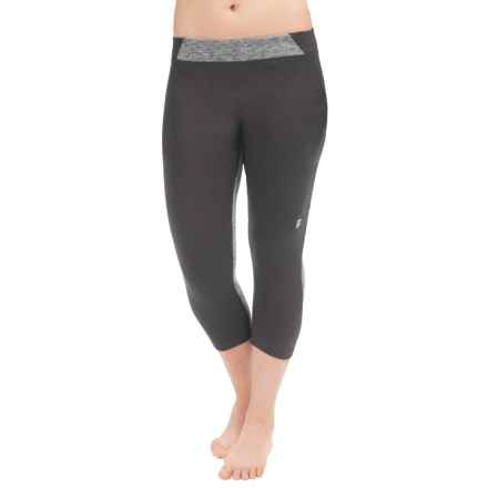 Orage Breeze Base Layer Capris (For Women) in Heather Grey - Closeouts