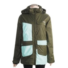 Orage Buchana Ski Jacket - Insulated (For Women) in Military/White - Closeouts