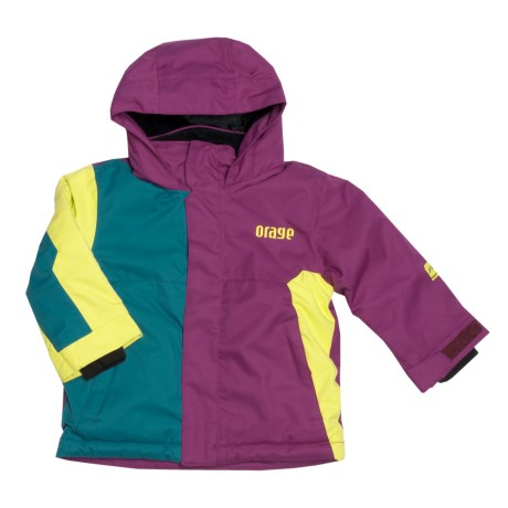 Orage Chinook Ski Jacket - Insulated (For Boys) in Lagoon/Berry