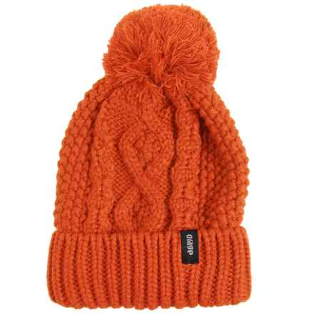 Orage Crysdale Beanie (For Women) in Guava - Closeouts