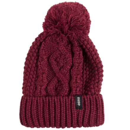 Orage Crysdale Beanie (For Women) in Purple - Closeouts