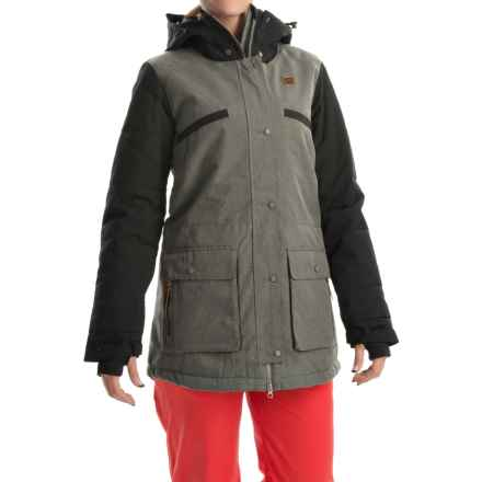 Orage Deal Ski Jacket - Waterproof, Insulated (For Women) in G108 Heather Grey - Closeouts