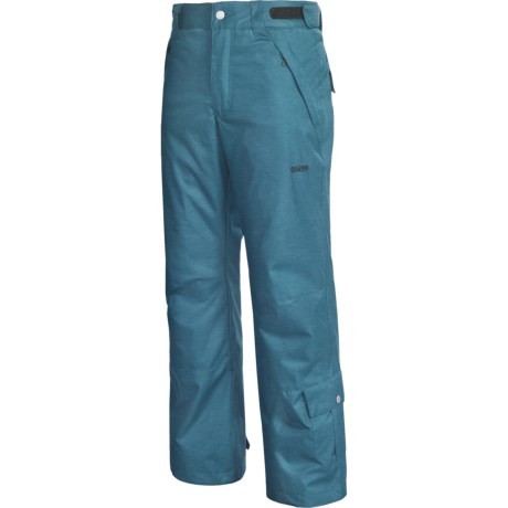 Orage Diablo Snow Pants - Insulated (For Men) in Heather Deep Sea