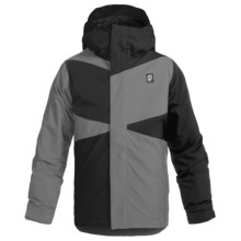 Orage Dub Jacket - Waterproof, Insulated (For Little and Big Boys) in Black - Closeouts