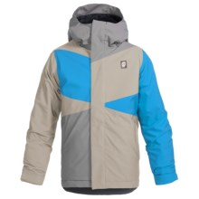 Orage Dub Jacket - Waterproof, Insulated (For Little and Big Boys) in Stone - Closeouts