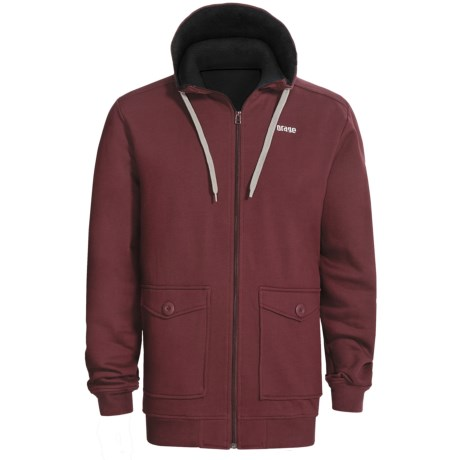 Orage Flee Fleece Sweatshirt - Full Zip, Hooded (For Men)