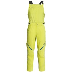 Orage Gibson Gore-Tex® Soft Shell Bib Pants - Waterproof (For Men) in Lime