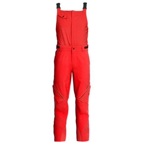 Orage Gibson Gore-Tex® Soft Shell Bib Pants - Waterproof (For Men) in R206 Fire Red