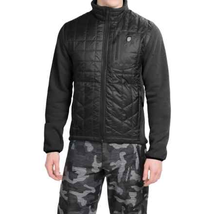 Orage Hybrid Layering Jacket - Insulated (For Men) in Black - Closeouts