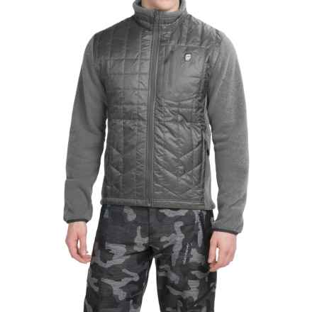 Orage Hybrid Layering Jacket - Insulated (For Men) in Carbon - Closeouts