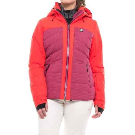 Orage Jasmine Down Ski Jacket - Waterproof, 600 Fill Power (For Women) in Plumrose - Closeouts