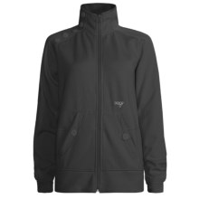 Orage Keele Fleece Jacket - Full Zip (For Women) in Black - Closeouts