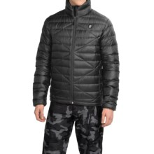 Orage Link Down Jacket - 600 Fill Power (For Men) in Black - Closeouts