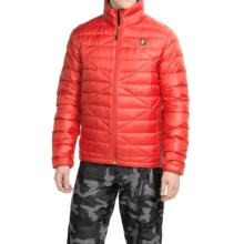 Orage Link Down Jacket - 600 Fill Power (For Men) in Red - Closeouts