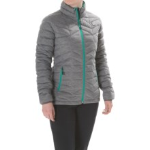 Orage Link Layering Down Jacket - 600 Fill Power (For Women) in Heather Grey - Closeouts