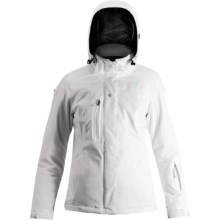 Orage Louise Jacket - Waterproof, Insulated (For Women) in White - Closeouts