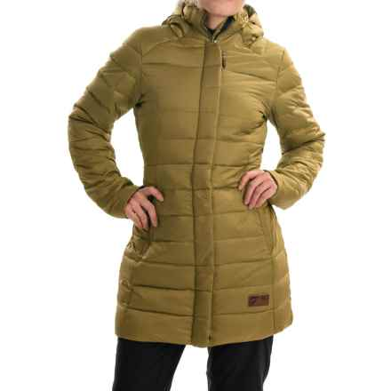 Orage Macey Down Parka - 500 Fill Power (For Women) in Golden - Closeouts