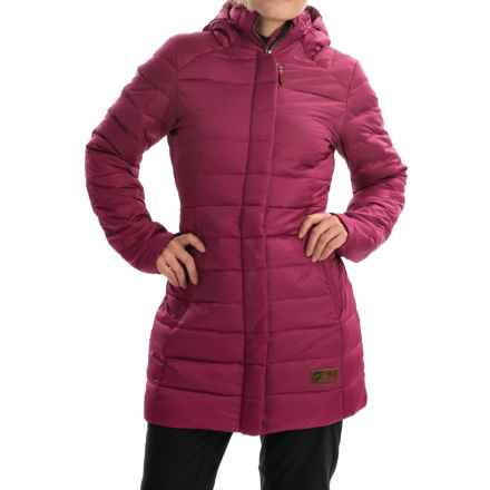 Orage Macey Down Parka - 500 Fill Power (For Women) in Plumrose - Closeouts