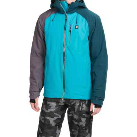 Orage Miller Ski Jacket - Waterproof, Insulated (For Men) in Turkish Blue - Closeouts