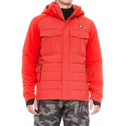 Orage Momentum PrimaLoft® Down Ski Jacket - Waterproof (For Men) in Red - Closeouts