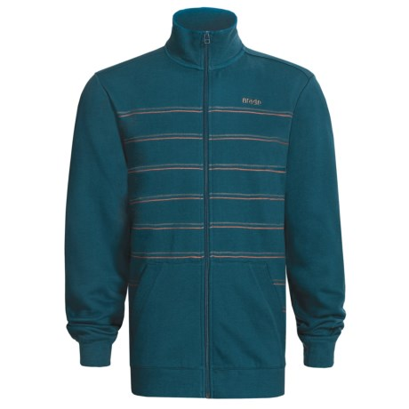 Orage Montana Fleece Jacket (For Men) in Deep Sea