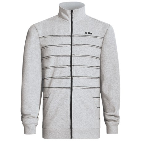 Orage Montana Fleece Jacket (For Men) in Heather Grey