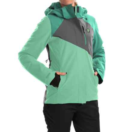 Orage Nina Ski Jacket - Waterproof, Insulated (For Women) in V295 Light Jade - Closeouts