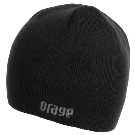 Orage Okanagan Beanie (For Men) in Black - Closeouts