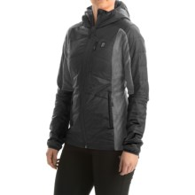 Orage Olivia Layering Hooded Jacket - Insulated (For Women) in Black - Closeouts