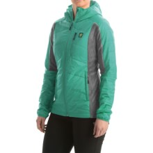 Orage Olivia Layering Hooded Jacket - Insulated (For Women) in Dark Jade - Closeouts