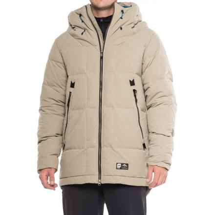 Orage Parkatype Down Jacket - 600 Fill Power (For Men) in Fog - Closeouts