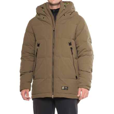 Orage Parkatype Down Jacket - 600 Fill Power (For Men) in Tarmac - Closeouts