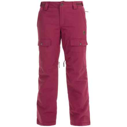 Orage Rachel Ski Pants - Waterproof, Insulated (For Women) in Plumrose - Closeouts