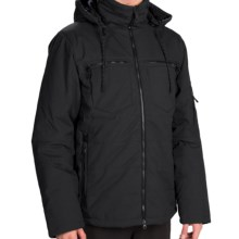 Orage Redford Hooded Jacket - Insulated (For Men) in Black - Closeouts