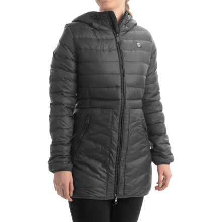 Orage Retreat Down Jacket - 500 Fill Power (For Women) in Black - Closeouts