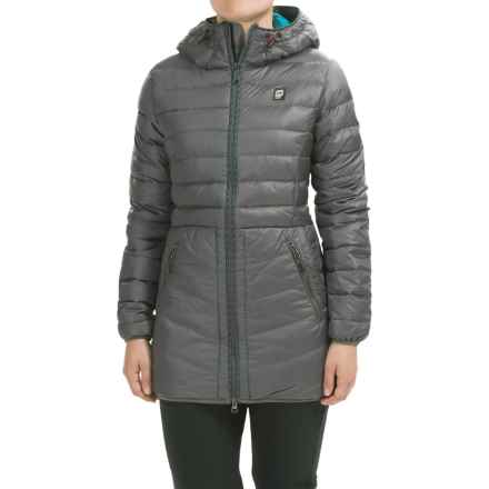 Orage Retreat Down Jacket - 500 Fill Power (For Women) in Carbon - Closeouts