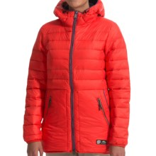 Orage Retreat Down Jacket - 500 Fill Power (For Women) in R206 Fire Red - Closeouts