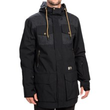 Orage Sarg Ski Jacket - Waterproof (For Men) in Black - Closeouts