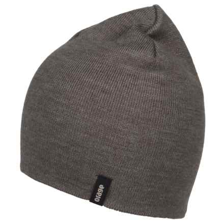 Orage Slocan Reversible Beanie (For Men) in Grey - Closeouts
