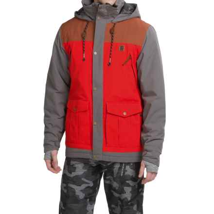 Orage Slogan Ski Jacket - Waterproof, Insulated (For Men) in Carbon - Closeouts