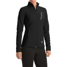 Orage Sofi Fleece Jacket - Full Zip (For Women) in Black - Closeouts