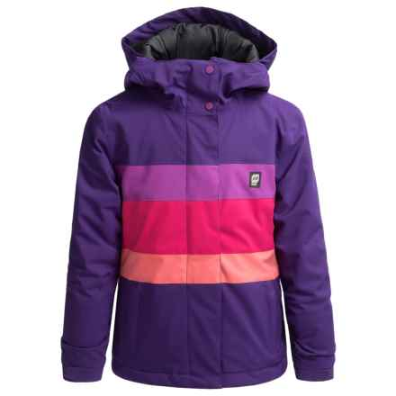 Orage Sultra Ski Jacket - Waterproof (For Little and Big Girls) in Iris - Closeouts