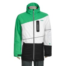 Orage Xavier Pro Ski Jacket - Insulated (For Men) in True Green/White - Closeouts