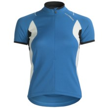 Orbea Dama Cycling Jersey - Zip Neck, Short Sleeve (For Women) in Blue - Closeouts