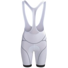 Orbea Pro Bib Cycling Shorts - UPF 50+ (For Women) in White - Closeouts