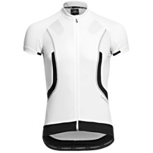 Orbea Pro Cycling Jersey - Short Sleeve (For Men) in White/Black - Closeouts