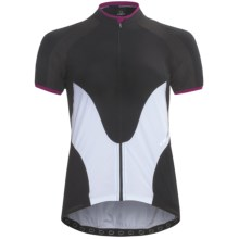 Orbea Pro Cycling Jersey - UPF 50+, Short Sleeve (For Women) in Black - Closeouts