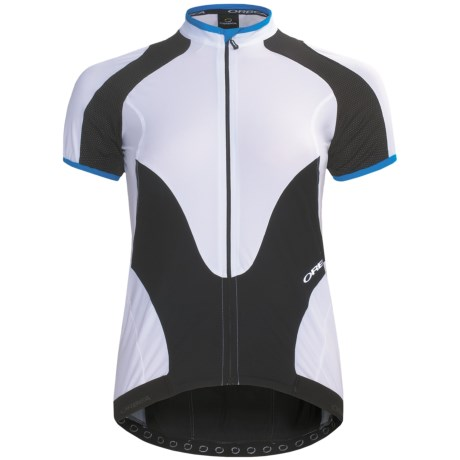 Orbea Pro Cycling Jersey - UPF 50+, Short Sleeve (For Women) in Black