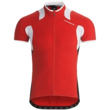 Orbea Pro SSN Cycling Jersey - UPF 50+, Full Zip, Short Sleeve (For Men) in Red - Closeouts