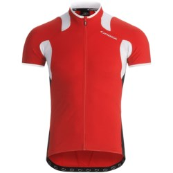Orbea Pro SSN Cycling Jersey - UPF 50+, Full Zip, Short Sleeve (For Men) in Red